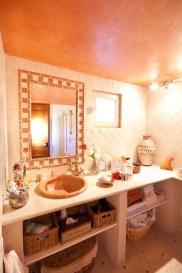 salle de bain stuc