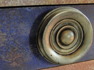 Détail bouton poignée
