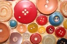 Mosaïque de boutons