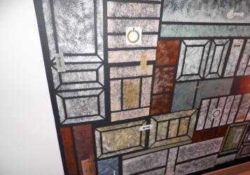 """Décor peint plafond:""""les portes"""""""