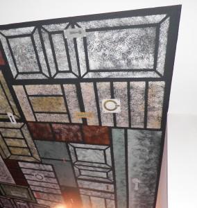 """Décor peint plafond: """"les portes"""""""
