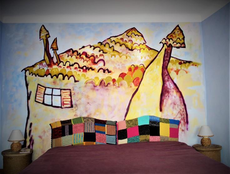 Graff et acrylique
