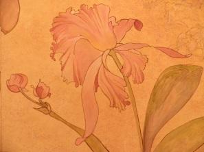 Détail décor style botanique