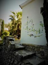 "Mosaïque au nom de la villa ""La Sereyabaan"""